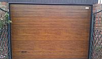 Автоматические гаражные секционные ворота alutech тренд 3625ш 1750в