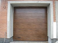 Автоматические секционные ворота alutech trend 4000ш 1750в, фото 1