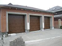 Подъемные секционные гаражные ворота alutech trend 4750ш 1750в