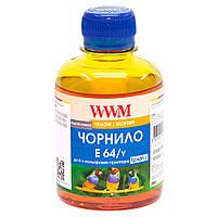 Чернила WWM для Epson L110/L210/L355 200г Yellow Водорастворимые (E64/Y)