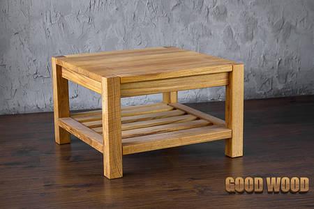 Стол журнальный деревянный СЖ-2 (Ш700*В450*Г700)
