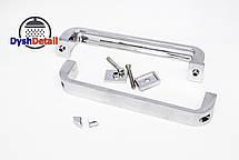 Ручка для дверей душевой кабины на два отверстия ( H-621 ) Металл.   , фото 2