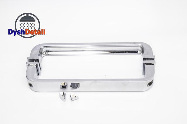 Ручка для дверей душевой кабины на два отверстия ( H-621 ) Метал.