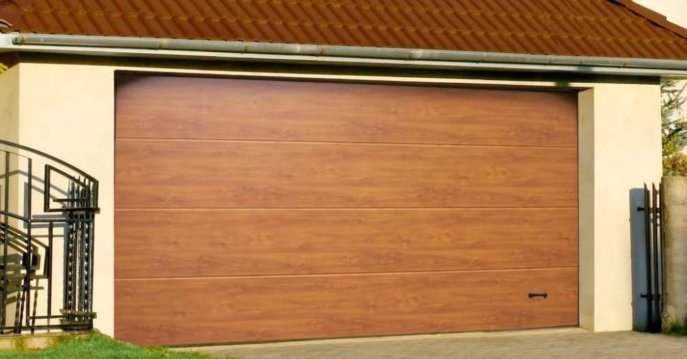 Секционные гаражные ворота alutech trend 2125 ш 2000 в