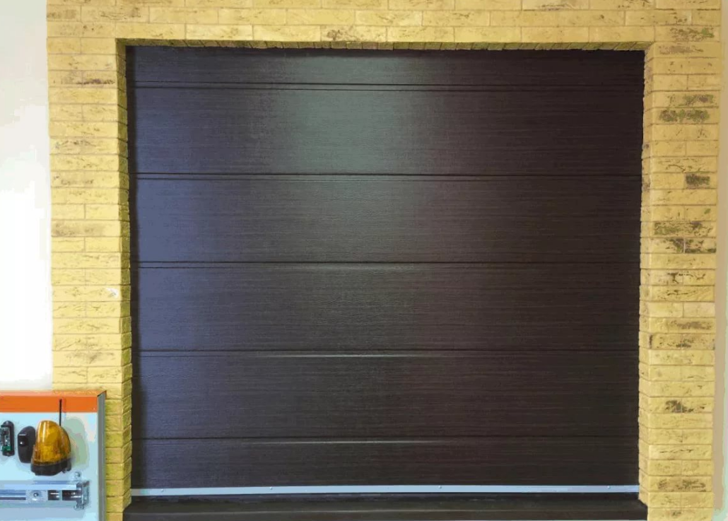 Ворота секционные гаражные ручные alutech trend 5000 ш 2125 в