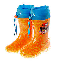 Детская обувь резиновые сапоги Hot Wheels (Хот Вилс) на мальчиков (размеры: 24-34) ТМ ARDITEX HW9676