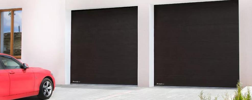 Cтандартные гаражные секционные ворота alutech trend 3250 ш 2125 в