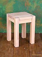 Табурет деревянный  W-1, ясень или дуб, (Ш350*В480*Г350)