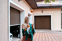 Красиві гаражні ворота alutech trend 3125 ш 2125 в, фото 1