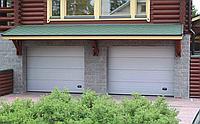 Секционные гаражные ворота alutech trend 4875 ш 3000 в, фото 1