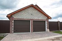 Автоматические ворота гаражные alutech trend 2125 ш 1875в, фото 1