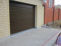Автоматические секционные ворота alutech trend 4125 ш 2125 в, фото 1