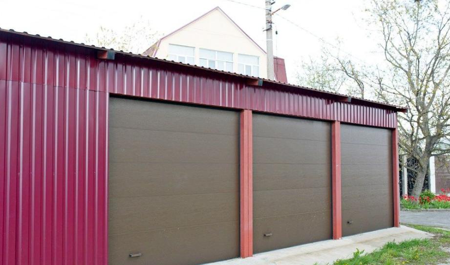 Комплектация гаражных ворот алютех trend 2625 ш 2125 в