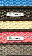 Автомобильные ковры салона на SKODA FABIA c 2014- из материала EVA c ячейками