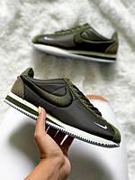 Кроссовки Nike Cortez oxford Green  replica AAA