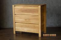 Комод деревянный Км-5, ясень или дуб, (Ш900*В870*Г450)