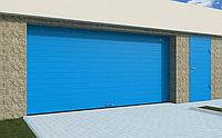 Секционные гаражные ворота алютех размер схема trend 1750 ш 2125 в, фото 1