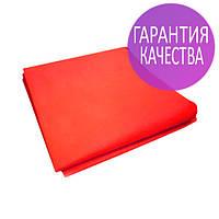 Чехол на кушетку 0,8х2,1м Panni Mlada бесшовный спанбонд 45 г/м2, универсальный с резинкой, 1 шт, красный