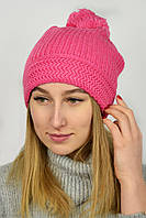 Шапка Диана розовая