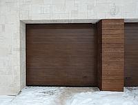 Секционные гаражные ворота алютекс trend 4500 ш 2125 в, фото 1