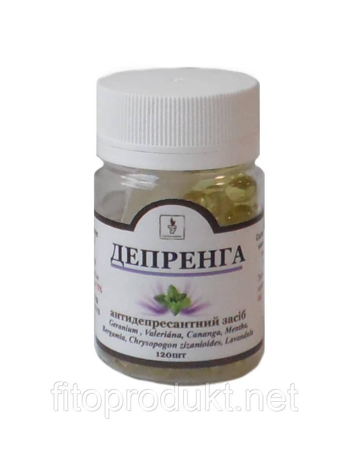 Депренга Золоті капсули антидепресантну засіб 120 капс Тибетська формула