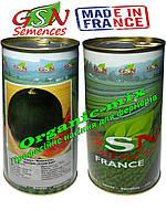 Арбуз Шуга Беби / SUGAR BABY (Сахарный малыш), Франция GSN Semences, фермерская упаковка (банка 500 грамм)