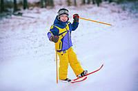 Технок Лыжи детские с палками 3350