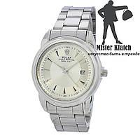 Часы мужские кварцевые Rolex Datejust Date Classic All Silver