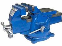 Тиски станочные поворотные 125 мм Сталь 47120
