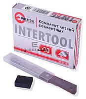 Лезвия для канцелярских ножей INTERTOOL 18 мм