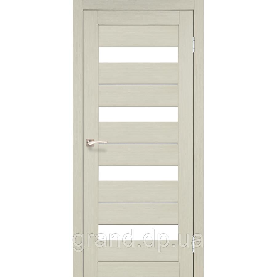 Двери межкомнатные  Корфад PORTO DELUXE Модель: PD-02 дуб беленый