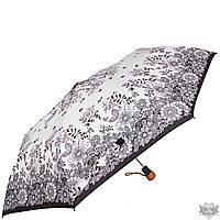 Зонт женский  AIRTON белый стильный полуавтомат