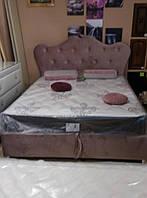 """Кровать ПРЕМЬЕРА без матраса с ящиком для белья """"Монро""""№7 двуспальная, фото 1"""