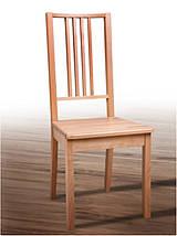 """Стул обеденный """"Бук"""" твердое сидение (коричневый, черный, прозрачный) для кухни Fusion Furniture, фото 3"""