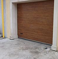 Ворота гаражные подъемные секционные alutech trend 5625 ш 2750 в, фото 1