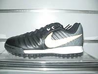 Детские сороконожки Nike JR TiempoX Ligera IV TF Pitch Dark-Black/White 897729-002