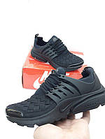 Женские Кроссовки Nike Air Presto черные ткань