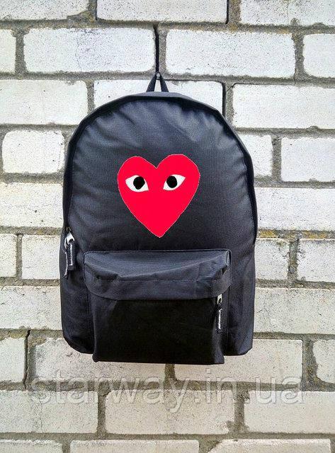 Рюкзак Comme Des Garcons лого топ