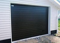Секційні гаражні ворота alutech trend 5875 ш 3000 в, фото 1