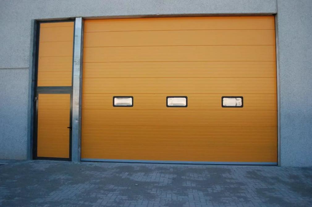 Секційні гаражні ворота alutech trend 6000 ш 2625 в