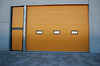 Секційні гаражні ворота alutech trend 6000 ш 2625 в, фото 1