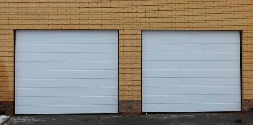 Ворота гаражные секционные alutech trend 5750 ш 2750 в