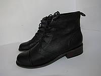 5TH AVENUE_кожа, Португалия, шикарные престижные ботинки 38р ст.24,5см H94