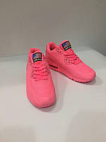 Кроссовки подросток Nike Air Max Pink  лицензия оптом (36-40)