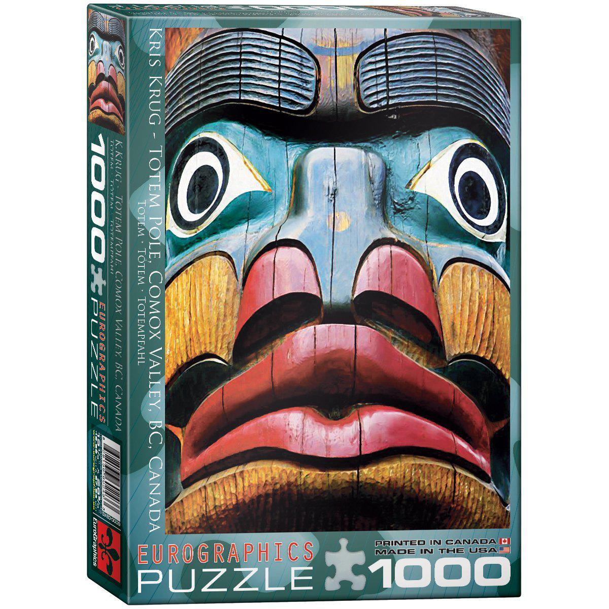 """Пазл """"Тотемний столб"""" Крис Круг 1000 элементов EuroGraphics (6000-0243)"""