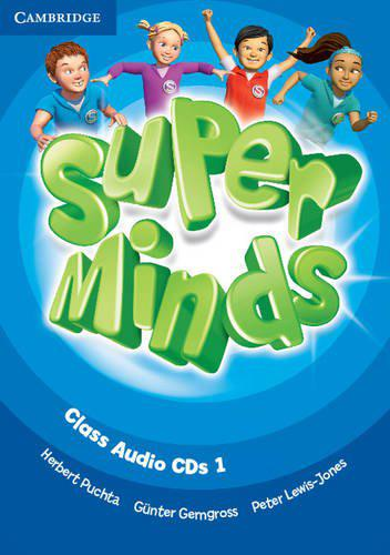 Super Minds 1 Class Audio CDs