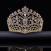 Корона, диадема, тиара под золото, высота 11,5 см.