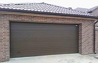 Секционные гаражные ворота alutech trend 3000 ш 2375 в, фото 1