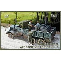 Фронтовой грузовик Einheitsdiesel с небольшой полевой кухней Hf.14 + сертификат на 50 грн в подарок (код 200-495411)