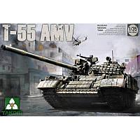 Советский средний танк Т-55АМВ + сертификат на 50 грн в подарок (код 200-495579)